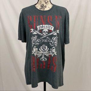 Bravado Guns & Roses Tee Size Large